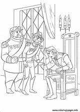 Coloring Hans Prince Southern Confused Isles Printable Frozen sketch template