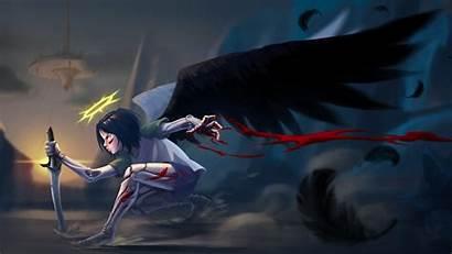 Alita Angel Battle Wallpapers Artwork Release Anime