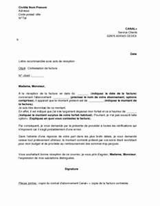 Rédiger Une Lettre Geste Commercial : exemple gratuit de lettre contestation facture canal ~ Medecine-chirurgie-esthetiques.com Avis de Voitures