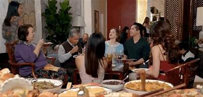 Uncle Dinner Thanksgiving Racist Asian He Say