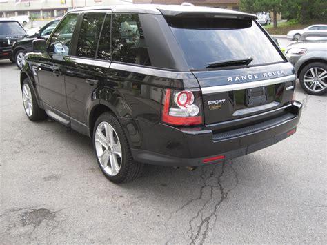 luxury black range rover 2012 land rover range rover sport hse lux santorini black