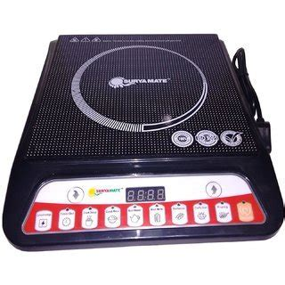Buy Suryamate 2000W Induction Cooktop Online   Get 26% Off