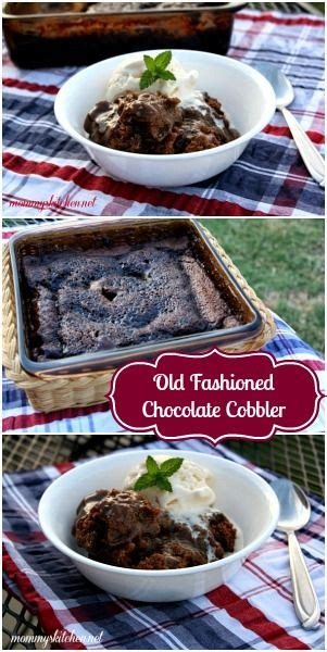 fashioned chocolate cobbler ooey gooey chocolate