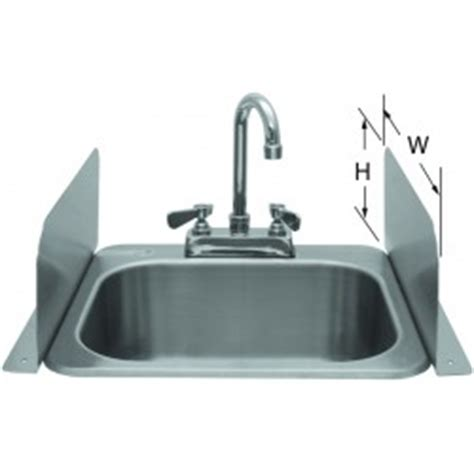 kitchen sink splash guard plastic deck mount soap dispenser 12oz gsw