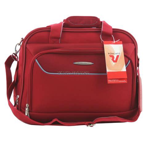 borsa cabina roncato utility bag tracolla borsa cabina roncato runner rosso