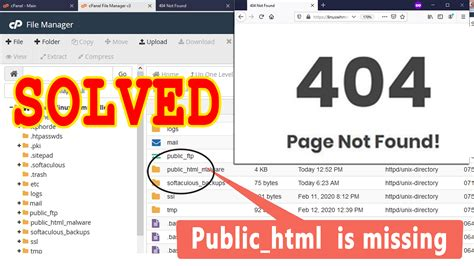 How To Fix Page Not Found Error In My Website Public