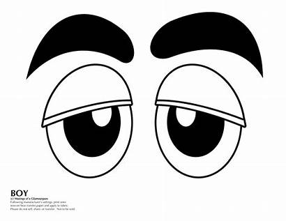 Faces Costume Face Eyes Template Candy Cut