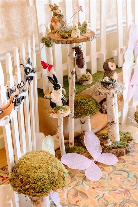 karas party ideas enchanted woodland forest birthday