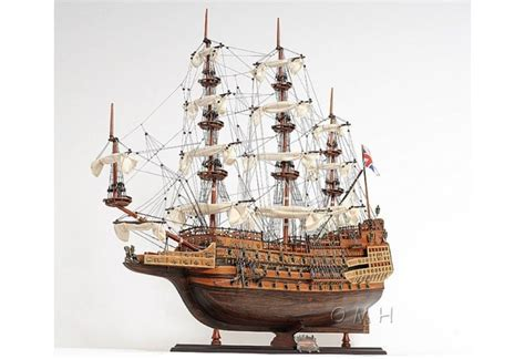 1600's Sovereign of the Seas Scaled Large Tall Model Ship