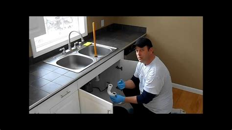 snaking a kitchen sink drain affordable sewer and water kitchen sink drain cleaning 8149