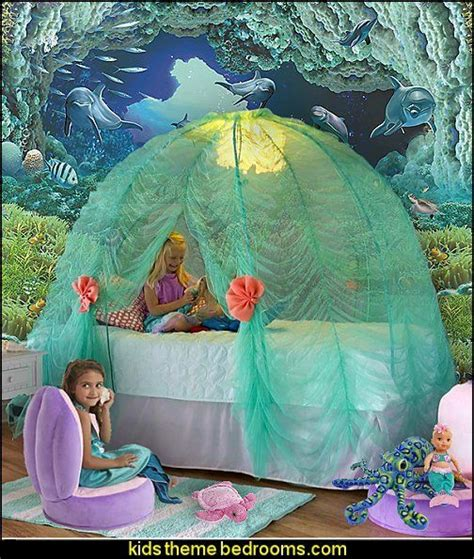 The Mermaid Bedroom Decor by Create An The Sea Themed Bedroom Filled With
