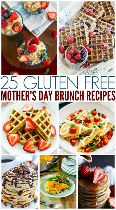I am a *huge* brunch girl, so it took a lot of pruning to get this list down to just the best of the best brunch ideas. 25 Gluten Free Mother's Day Brunch Recipes - Wendy Polisi