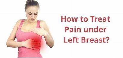 Pain Breast Left Under Side Hurts Chest