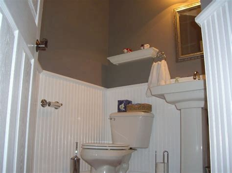 bathroom with wainscoting ideas home foyer with beadboard wainscoting bathrooms with