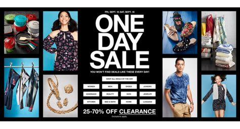macy s one day sale is back magic style shop