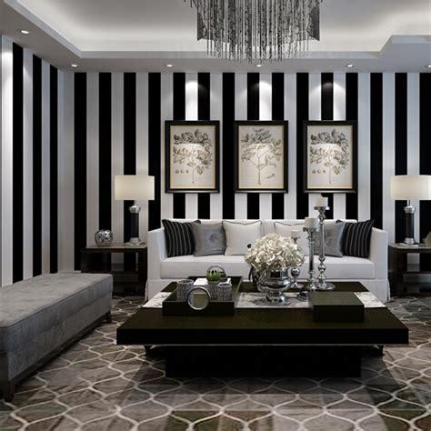 chambre en noir et blanc papier peint noir et blanc chambre