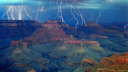Arizona Grand Canyon Tucson Background Storm Az