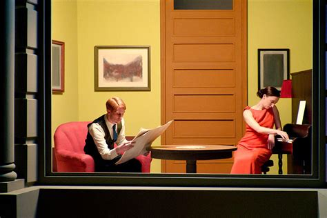 modern homes interiors painter edward hopper 39 s interiors come to on the