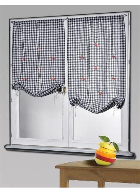 rideau voilage cuisine voilage de cuisine lps voilage 140x240 cm papillon tulle