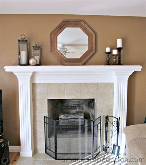 simple mantel amanda rapp design mantel decorating simple classic