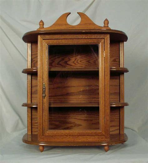 curio cabinets with glass doors oak hanging wall mounted curio cabinet with glass door 2