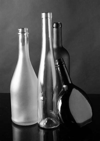 Still Glass Bottles Bottle Wine Painting Dark