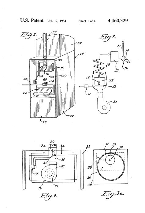 Patent Power Vent Control For Furnace