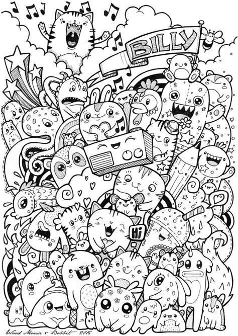 Coloring Doodle by Image Result For Kawaii Doodles Doodlebops Doodle