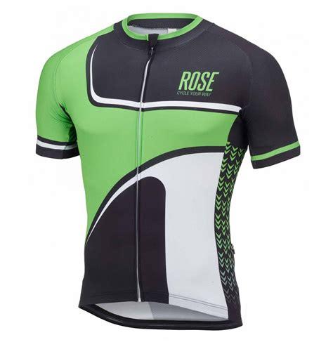 2016 Rose Retro Black-Green Cycling Jersey