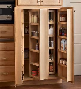Corner kitchen pantry cabinet to maximize corner spots at for Pantry küchen