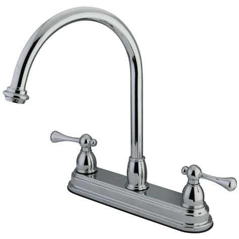 8 inch sink faucet kingston brass kb3741bl 8 inch centerset kitchen faucet