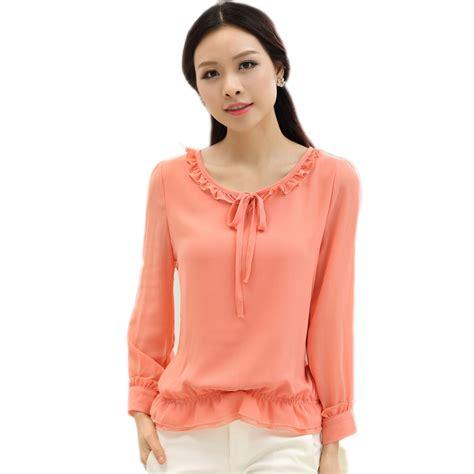 blouses and dresses aliexpress com buy roupas feminina ruffled tops