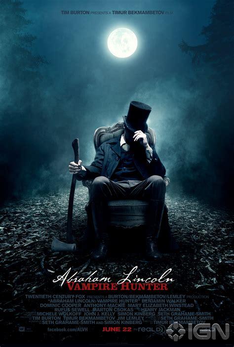 vampire lincoln abraham hunter posters john slayer movie movies cast abe vampires poster tim film elizabeth mary year historical walker