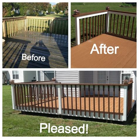 deck restore ideas  pinterest