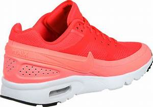 Nike Air Max BW Ultra W shoes red orange neon