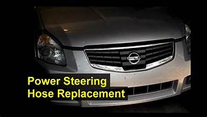 2000 Nissan Maxima Power Steering Hose Diagram