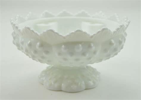 fenton l base vintage fenton glass candle bowl epergne base hobnail