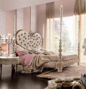 Lit Baroque Pas Cher : lit adulte capitonne maison design ~ Teatrodelosmanantiales.com Idées de Décoration