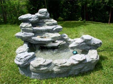 cascade fontaine de jardin pompe 233 tang d 233 coration neuf rocher eau lumi 232 re le ebay