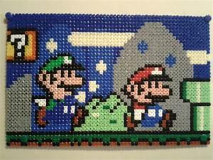 Bügelperlen Super Mario : mario world mario and luigi hama beads by anja rattasepp mario bead sprites pinterest ~ Eleganceandgraceweddings.com Haus und Dekorationen