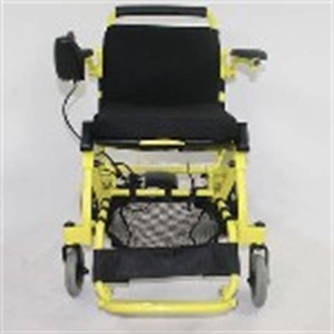 air hawk lightweight electric wheelchair open box