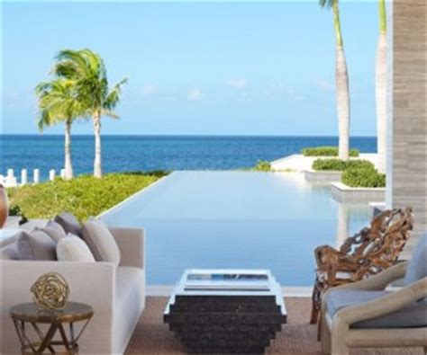 Dapper West Indian Viceroy Villas by An Amazingly Beautiful Modern Waterfront House From New