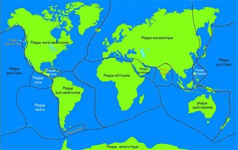 le eplaque notions de plaques tectoniques