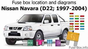 Fuse Box Location And Diagrams  Nissan Navara  D22  1997