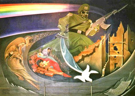Denver Airport Murals Painted by Denver International Airport Paintings