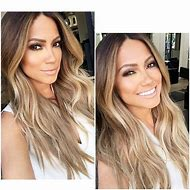 Light Brown Hair with Blonde Ombre