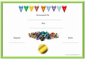 Free Certificate Template Free Printable Certificate Templates For Kids