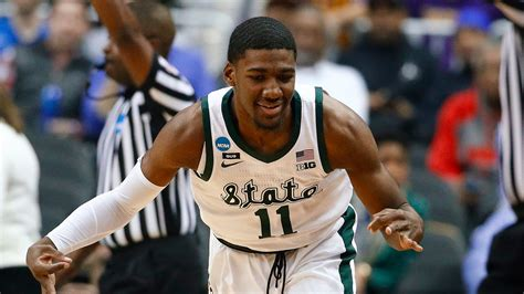 michigan state basketball top lsu    reach elite