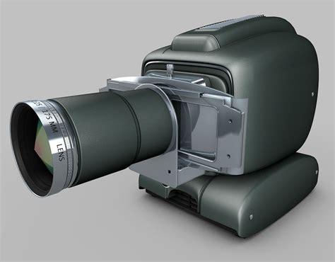 vintage projector  model obj ds fbx cd dxf