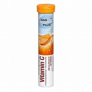 Das Gesunde Plus Vitamin C Effervescent Tablets 20 Tablets